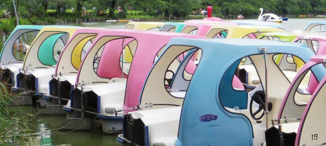 不忍池でボートを見た件
