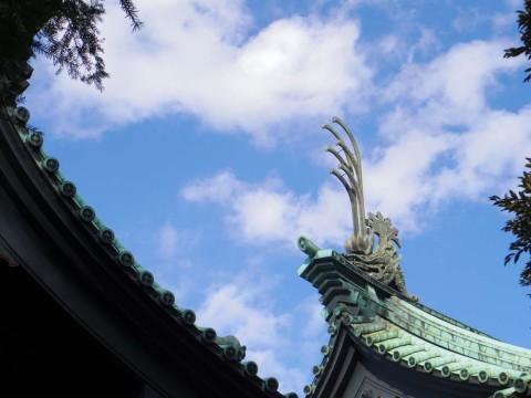 湯島聖堂と空2