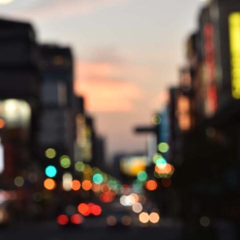 浅草の夕暮れ3
