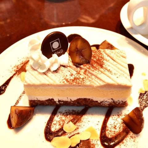 栗のケーキ2