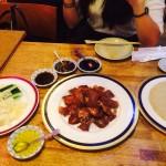 北京ダック食べたよ~♫ Iちゃんが。
