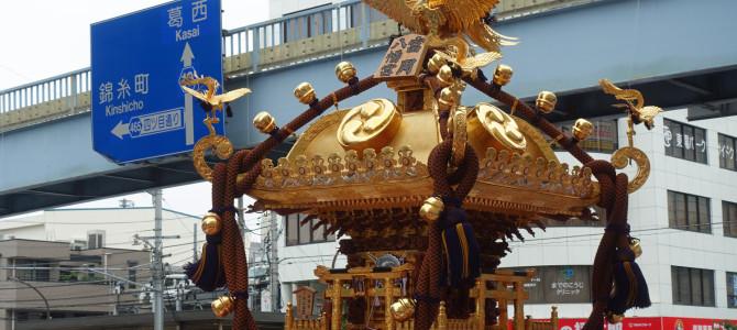 富岡八幡宮~二の宮神輿渡御