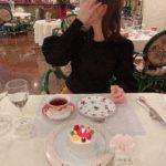 友人の誕生日お祝いランチ