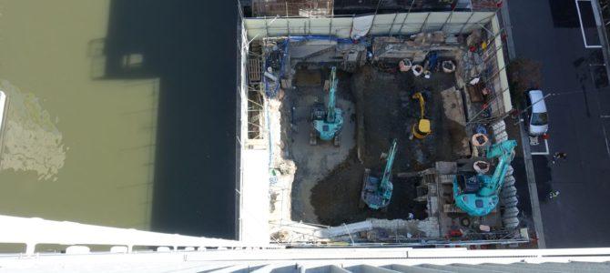 隣の解体工事、その後。