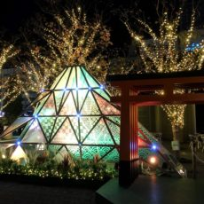 東京ドームシティの今年のテーマは、山紫水明